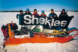 ウィル?スティガー探検隊が犬そり北極點到達に初めて成功